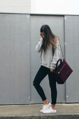 Fabulous And Fashionable School Outfit Ideas For College Girls40