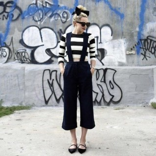 Magnificient Summer Outfit Ideas With Black Flats13