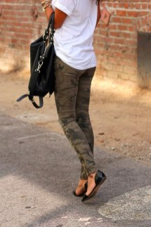 Magnificient Summer Outfit Ideas With Black Flats35