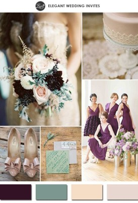 Popular Fall Wedding Color Trends Ideas06