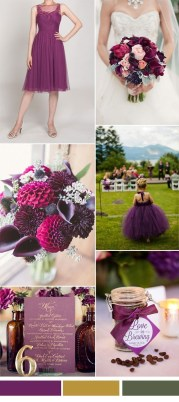 Popular Fall Wedding Color Trends Ideas07