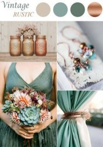 Popular Fall Wedding Color Trends Ideas22