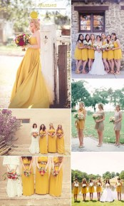 Popular Fall Wedding Color Trends Ideas23
