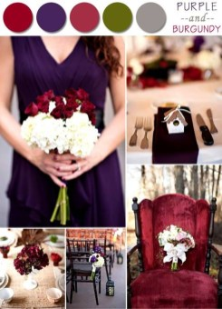 Popular Fall Wedding Color Trends Ideas35