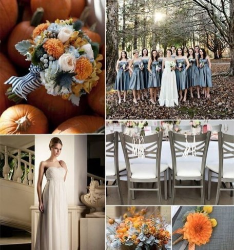 Popular Fall Wedding Color Trends Ideas39
