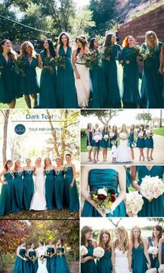 Popular Fall Wedding Color Trends Ideas45