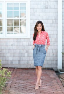 Stunning Work Office Outfit Ideas20
