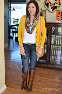 Unique Ways To Wear A Cardigan This Fall08