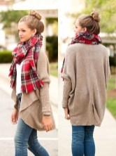 Wonderful Ways Wear Bun Fall Ideas24