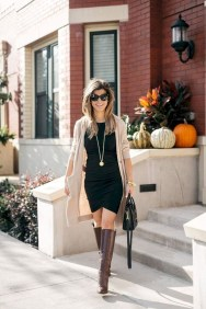 Adorable Winter Outfits Ideas Boots Skirts21