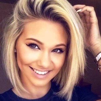 Awesome Haircuts Ideas For Round Face46