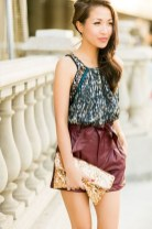 Charming Winter Outfits Ideas High Waisted Shorts16