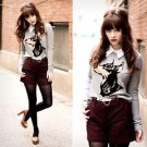 Charming Winter Outfits Ideas High Waisted Shorts18