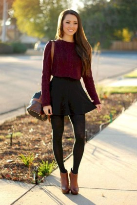 Charming Winter Outfits Ideas Teen Girl12