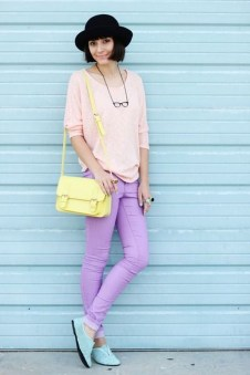 Fabulous Purple Outfit Ideas For Summer03