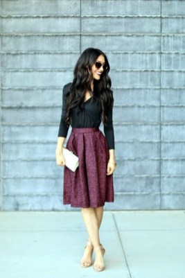 Fabulous Purple Outfit Ideas For Summer35