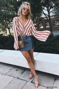 Fancy Winter Outfits Ideas Jean Skirts26