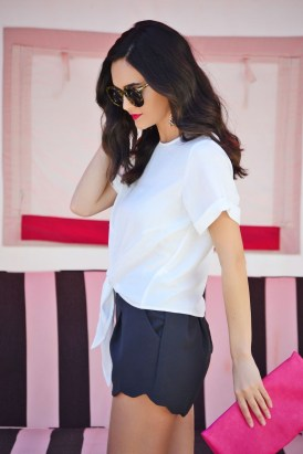 Fascinating Scalloped Clothing Ideas For Summer Outfits25