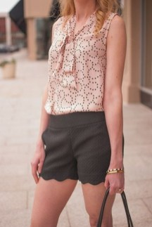 Fascinating Scalloped Clothing Ideas For Summer Outfits37