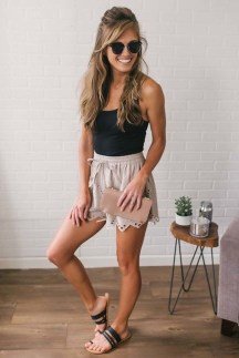 Fascinating Scalloped Clothing Ideas For Summer Outfits38