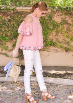 Fascinating Scalloped Clothing Ideas For Summer Outfits45