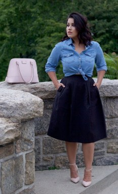 Incredible Skirt And Blouse This Fall Ideas09