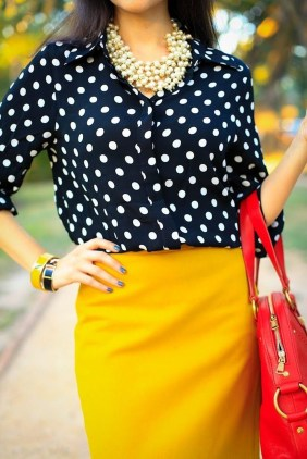 Incredible Skirt And Blouse This Fall Ideas16