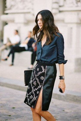 Incredible Skirt And Blouse This Fall Ideas27