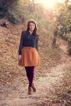 Incredible Skirt And Blouse This Fall Ideas31