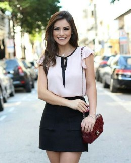 Incredible Skirt And Blouse This Fall Ideas41