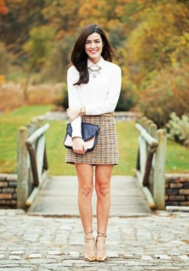 Incredible Skirt And Blouse This Fall Ideas45