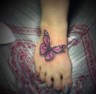 Lovely Foot Tattoo Ideas For Girls04