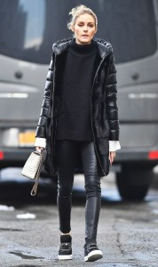 Popular Winter Outfits Ideas Leather Leggings10