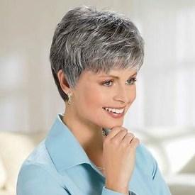 Pretty Grey Hairstyle Ideas For Women10