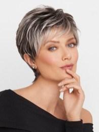 Pretty Grey Hairstyle Ideas For Women25