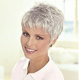 Pretty Grey Hairstyle Ideas For Women31