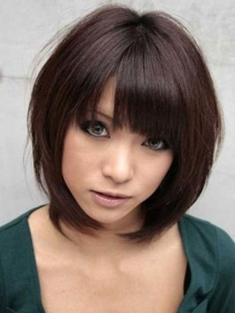 Pretty Hairstyle With Bangs Ideas17