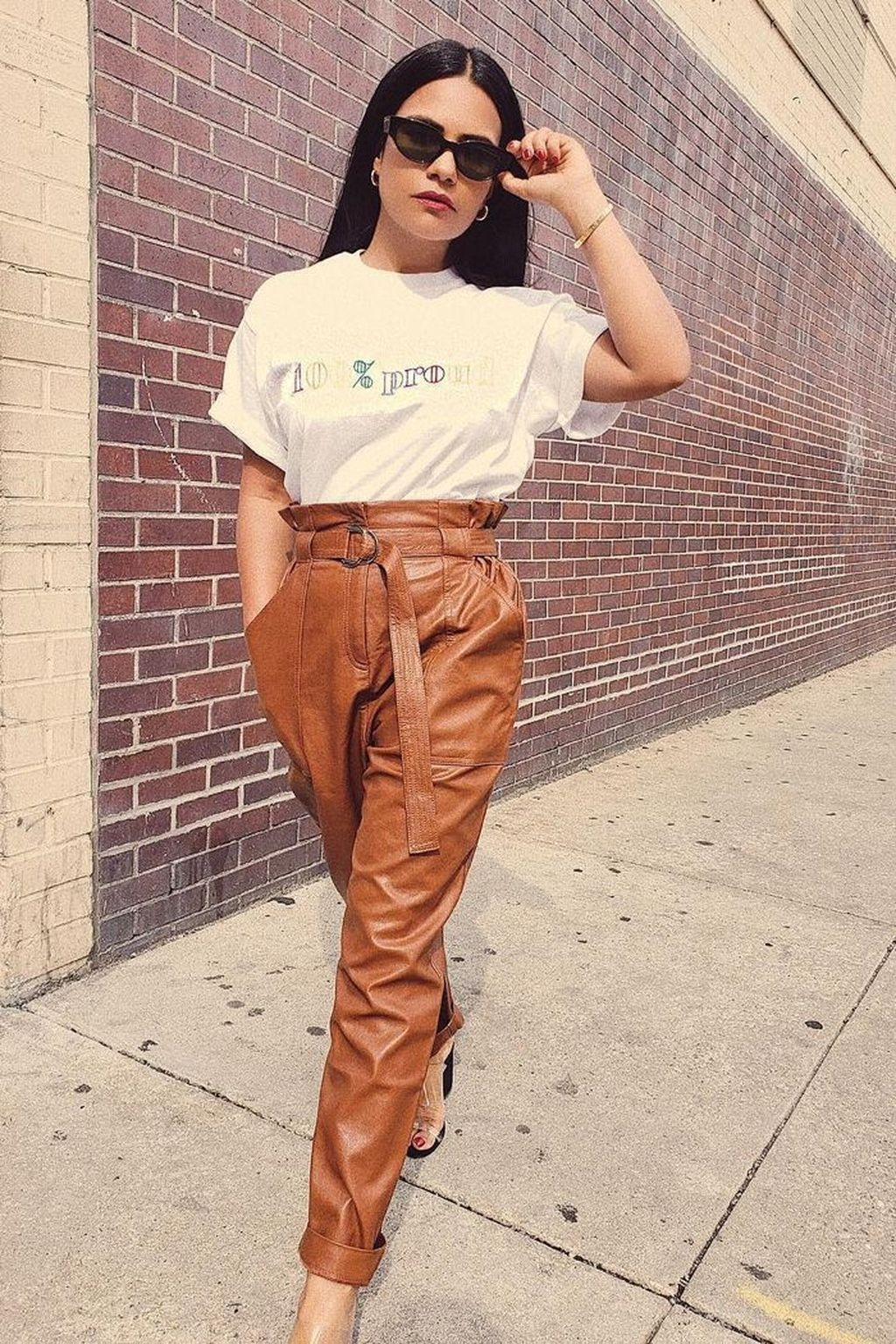 Pretty Winter Outfits Ideas High Waisted Pants03