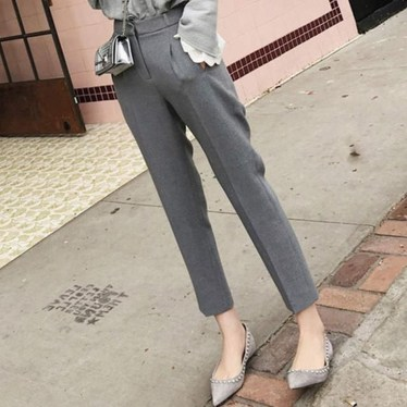 Pretty Winter Outfits Ideas High Waisted Pants27