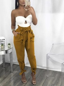 Pretty Winter Outfits Ideas High Waisted Pants31