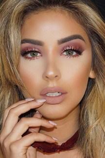 Stunning Shimmer Eye Makeup Ideas 201807