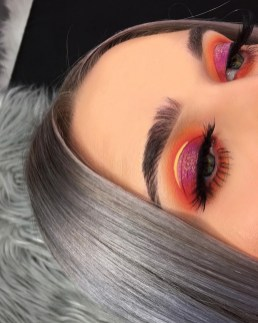 Stunning Shimmer Eye Makeup Ideas 201808