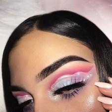 Stunning Shimmer Eye Makeup Ideas 201825