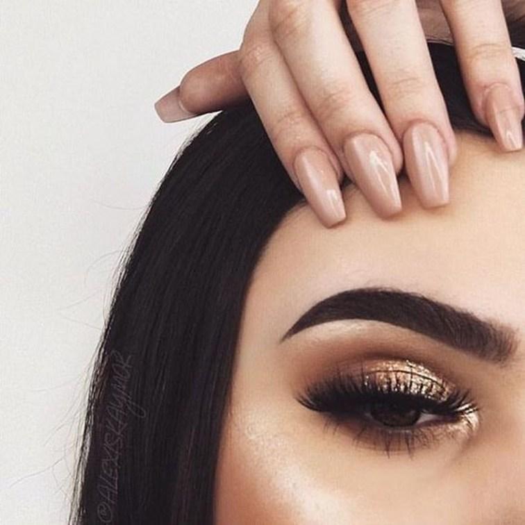 Stunning Shimmer Eye Makeup Ideas 201831