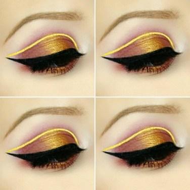 Stunning Shimmer Eye Makeup Ideas 201844