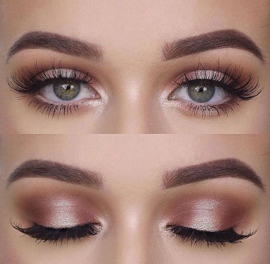 Stunning Shimmer Eye Makeup Ideas 201845