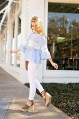 Stunning Spring Outfit Ideas With Wedges14