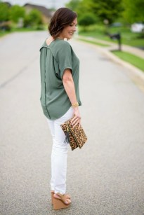 Stunning Spring Outfit Ideas With Wedges19