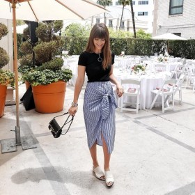 Wonderful Midi Skirt Outfit Ideas For Spring And Summer 201811