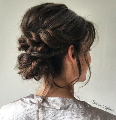 Casual Christmas Updos Ideas02